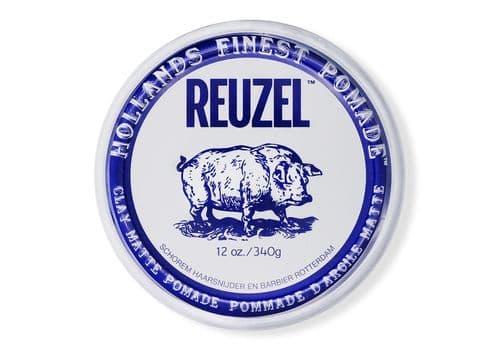 Reuzel Clay Matte Pomade Pig - глина сильной фиксации, 340 г, фото 1