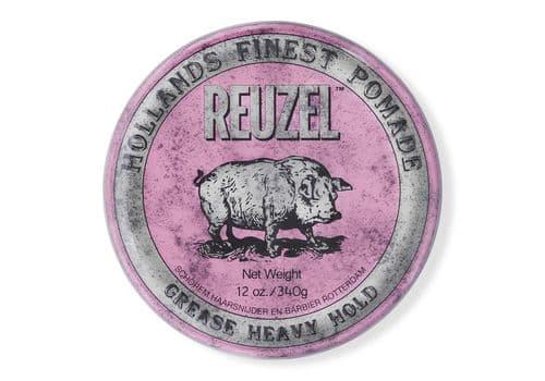 Reuzel Pink Grease Heavy Hold Pig - помада сильной фиксации, 340г, фото 1