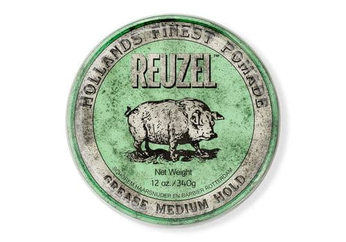 Reuzel Green Grease Medium Hold Pig - помада средней фиксации, 340г, фото 1