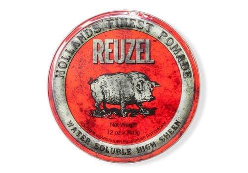 Reuzel High Sheen Pomade - помада на водной основе средней фиксации, 340 г, фото 1