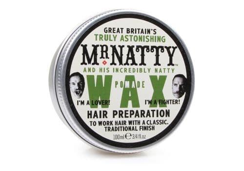 MR NATTY'S POMADE WAX HAIR PREPARATION - ВОСК ДЛЯ ВОЛОС, 100г, фото 1