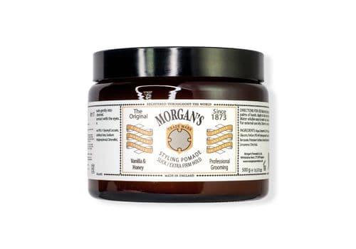 """MORGAN'S """"Vanilla & Honey"""" - Помада для укладки, экстра-сильная фиксация/Без блеска, 500 мл, фото 1"""