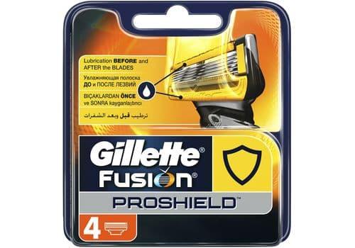 Gillette Fusion5 Proshield – кассеты для бритья, 4 шт., фото 1