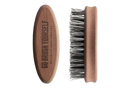 Щетка из натуральной щетины для бороды Brooklyn Soap Company, фото 1