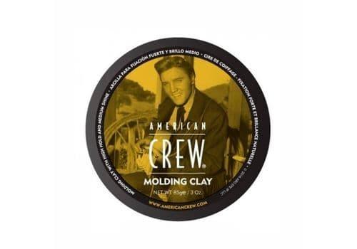 American Crew Classic Molding Clay - формирующая глина сильной фиксации со средним уровнем блеска для укладки волос 85 г, фото 1