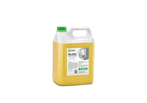 """Grass """"Milana"""" - Жидкое крем-мыло молоко и мед, 5 кг, фото 1"""