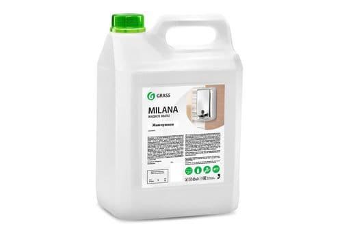 """Grass """"Milana"""" - Жидкое крем-мыло жемчужное, 5 кг, фото 1"""