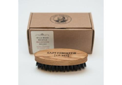 Captain Fawcett Wild Boar Bristle Moustache Brush - Щетка для усов, фото 1
