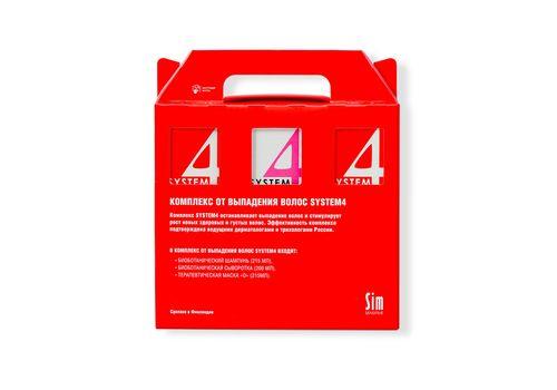 Sim Sensitive System 4 - Комплекс от выпадения волос, (шампунь 215 мл + маска 215 мл + сыворотка 200 мл), фото 1