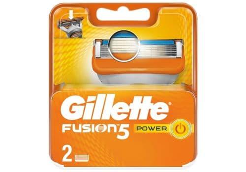 Gillette Fusion5 Power – кассеты для бритья, 2 шт., фото 1