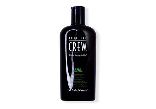 American Crew Tea Tree - Средство для волос 3 в 1, чайное дерево 450 мл, фото 1
