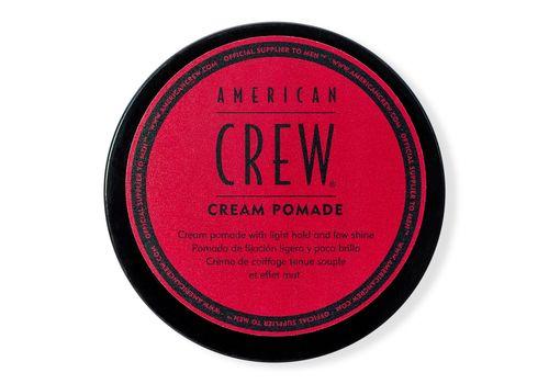 American Crew - Cream Pomade - Крем-помада с легкой фиксацией и низким уровнем блеска, 85 г, фото 1
