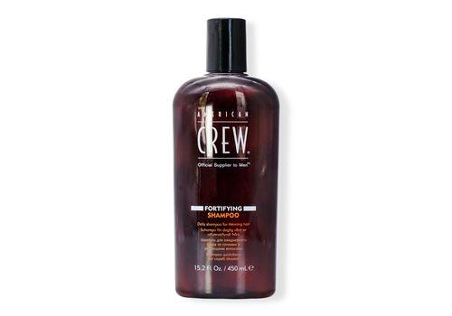 American Crew - Fortifying Shampoo - Шампунь для ежедневного ухода за тонкими волосами, 450 мл, фото 1