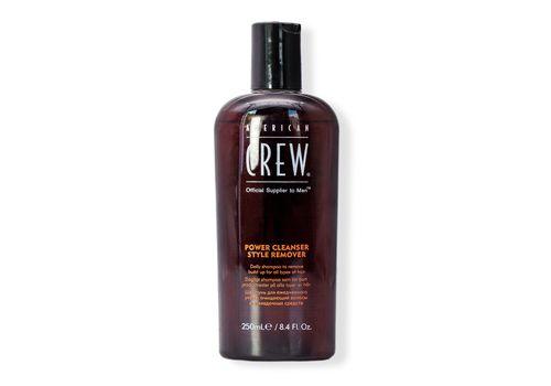 American Crew Power Cleanser Style Remover - шампунь для ежедневного ухода, очищающий волосы от укладочных средств 250 мл, фото 1