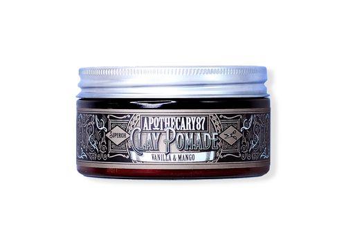 Apothecary87 Clay Pomade Vanilla & Mango - глина для укладки волос 100 мл, фото 1