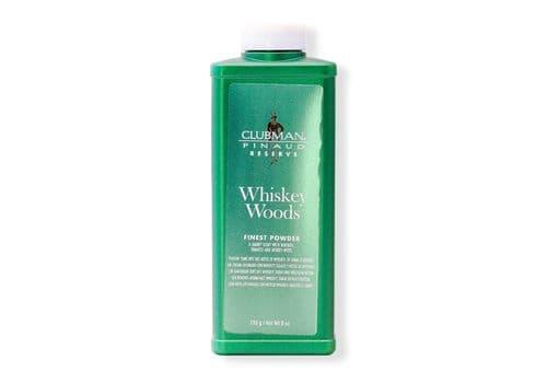 Clubman Whiskey Woods Powder - Тальк универсальный с запахом виски, 255 гр, фото 1