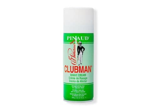 Clubman Shave Cream - Классическая пена для бритья с алоэ вера, 340 гр, фото 1