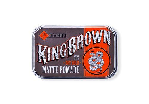 Kingbrown Matte Pomade - помада на водной основе, 75 гр, фото 1