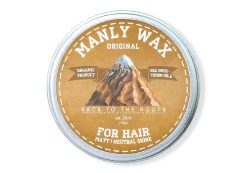 Manly Wax original - Воск для волос, 100мл, фото 1