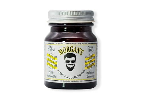 MORGAN'S Beard And Moustache Wax - Воск для бороды и усов, 50 гр, фото 1
