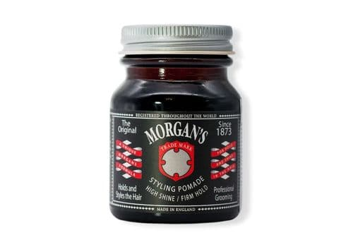 MORGAN'S Styling Pomade - Помада для укладки волос, Сильная Фиксация/Сильный Блеск, 50 гр, фото 1
