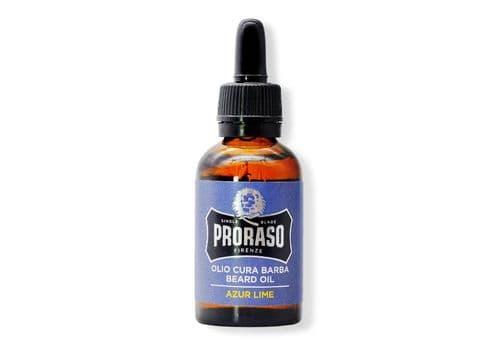 Proraso Azur Lime Beard Oil - масло для бороды, 30 мл, фото 1