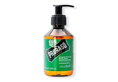PRORASO Beard Shampoo Refreshing - Шампунь для бороды освежающий, 200 мл, фото 1