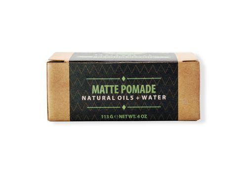 Suavecito Premium Blends Matte Pomade-матовая помада, средней фиксации, 113г, фото 2