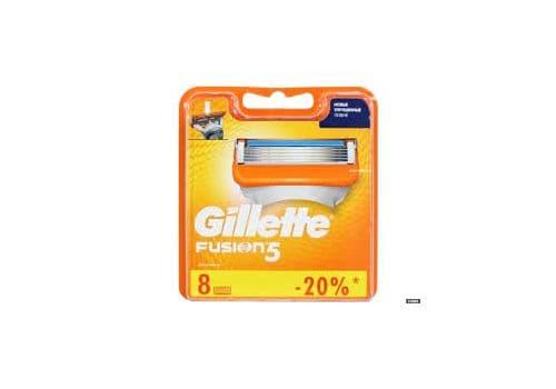 Gillette Fusion5 – кассеты для бритья, 8 шт., фото 1