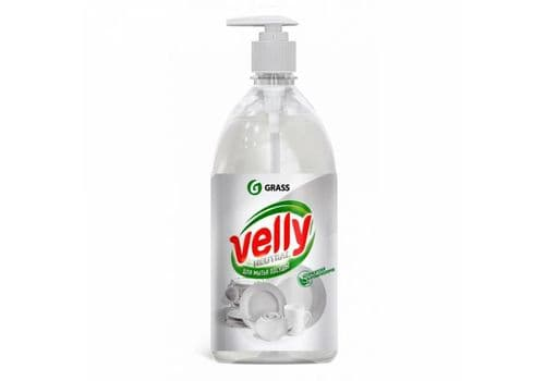 Grass - Velly neutral - СРЕДСТВО для мытья посуды, 1000 мл, фото 1