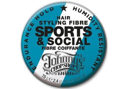 Johnny's Chop Shop Sports&Social Fiber - Файбер для стайлинга волос, 70 г, фото 1