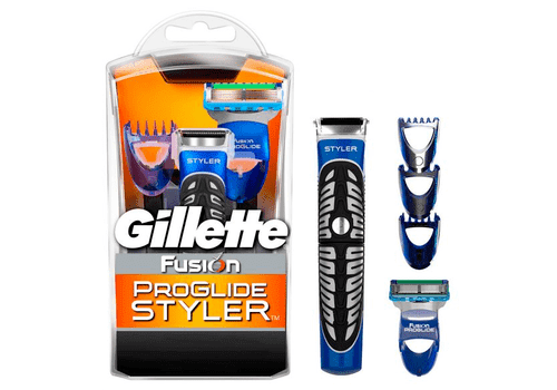Gillette Fusion PG Styler – бритва-стайлер, 3 насадки + 1 кассета, фото 1