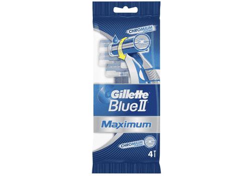 Gillette Blue2 Maximum – бритвы одноразовые, 4 шт., фото 1