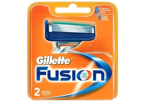 Gillette Fusion5 – бритвенный станок, 2 кассеты, фото 1