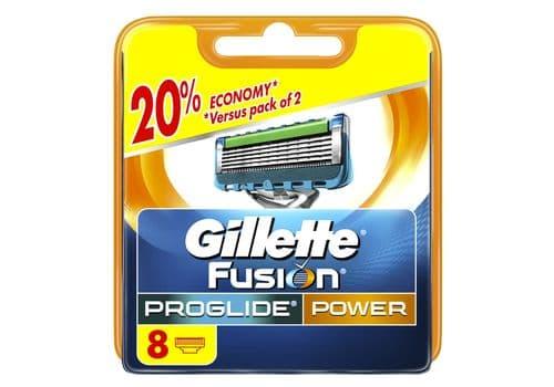 Gillette Fusion5 Proglide Power – кассеты для бритья, 8 шт., фото 1